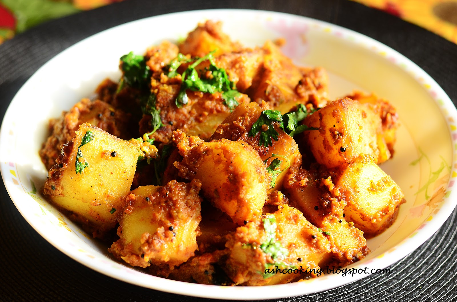 shahi dum aloo is an exotic aloo dum preparation that complements puri ...