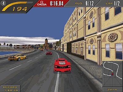 Need For Speed com Ferrari
