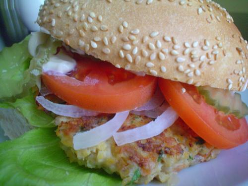 Cocinillas hamburguesas de pescado - Hamburguesas de pescado para ninos ...