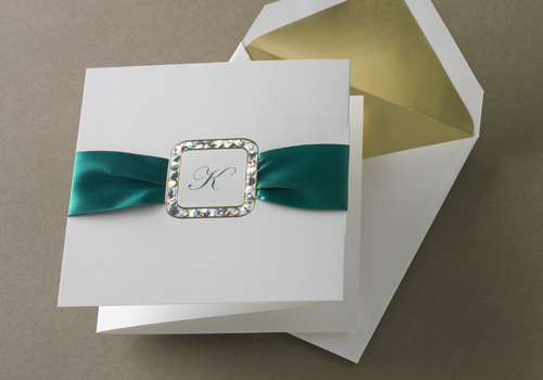 Emerald Green Wedding Invitations
