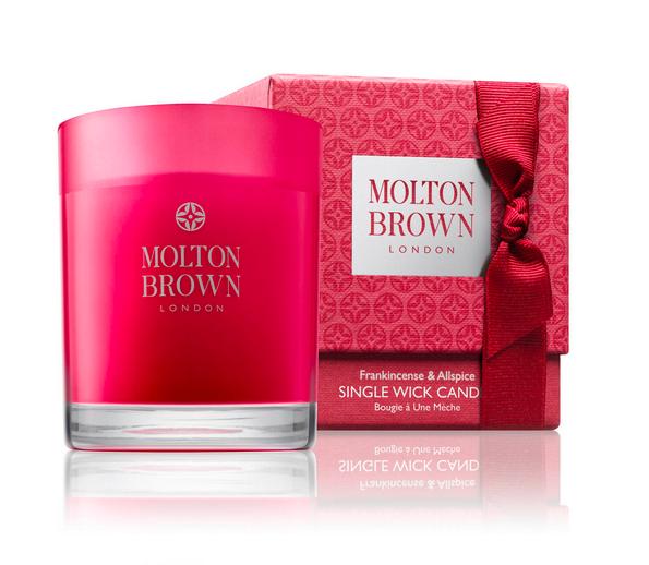 Vela Frankincense & Allspice Christmas de Molton Brown