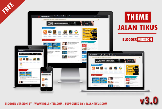 Update Template Jalan Tikus Blogger Version 3.0