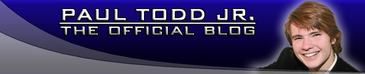The Paul Todd Jr. Blog