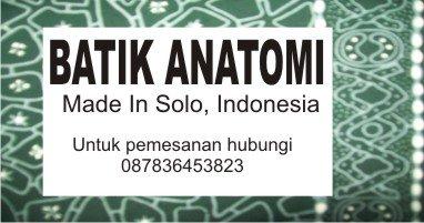 Nisa's Blog: Batik Anatomi hasil PKMK Dikti