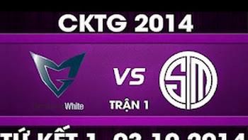 CK Thế Giới 2014 – Tứ kết 1, SSW vs TSM [BO5]