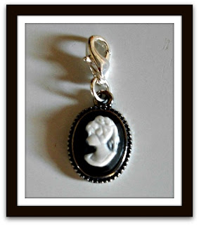 "Cameo Frill, Sterling Coated, Size:0.5"" x 1"" Oval Gloss Jewelry"