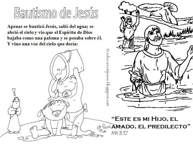 RECURSOS PARA CATEQUESIS: Recursos catequésis Bautismo de Jesús
