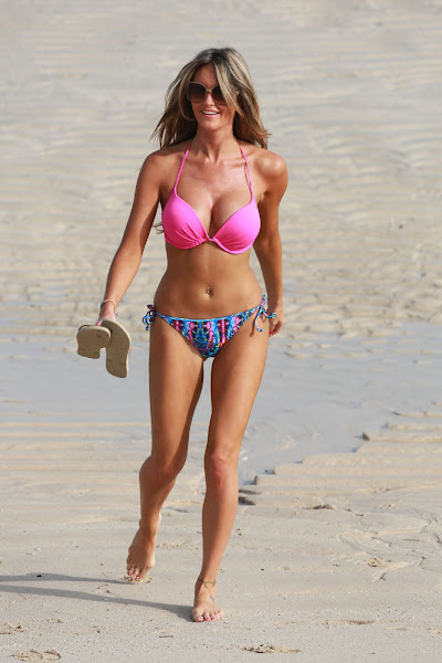 GEORGINA DORSETT in Bikini on the Beach in Dubai