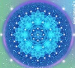 Mandala Rayo Azul Violeta :P