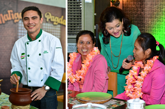 Foodie from the Metro: Knorr Sinigang - Holiday OFW Homecoming Marvin Agustin Pinky Marquez