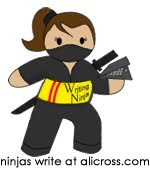 I am a WRITING NINJA!