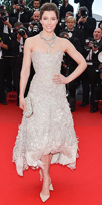 Jessica Biel, Cannes Film Festival, fashion