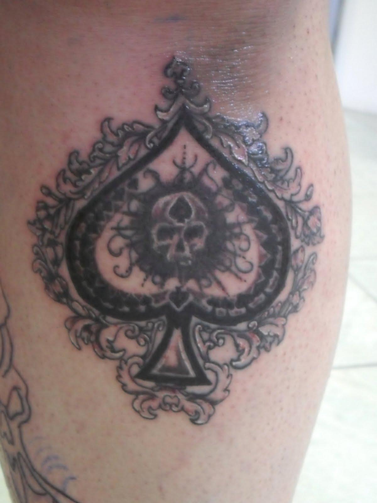 Espada Tattoo As De PictureEspada Tattoo