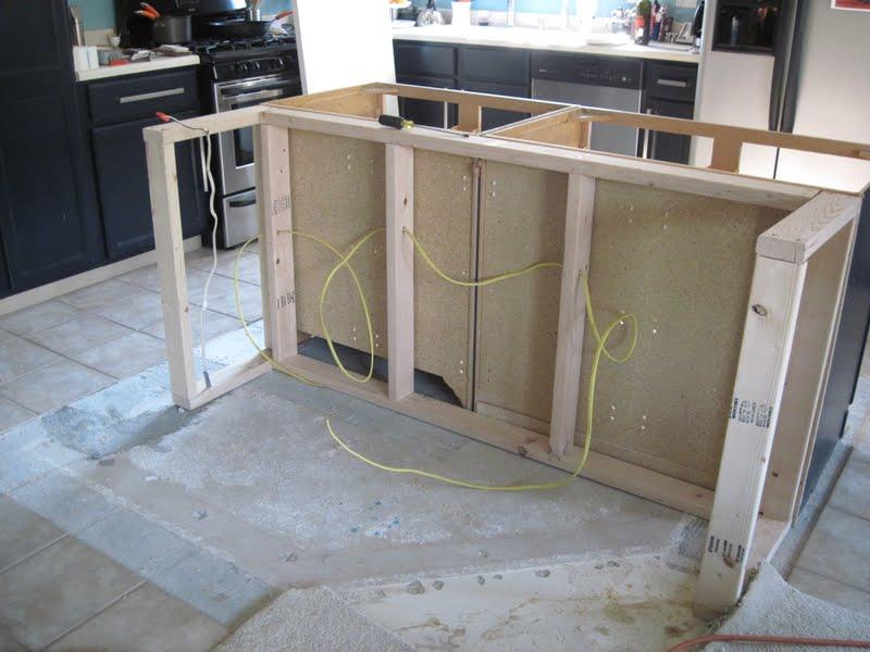 Kitchen Construction Service : Kitchen island construction quality