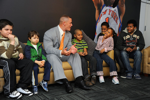 Football news picture match highlights celebrity pictures john john cena meet with kids m4hsunfo