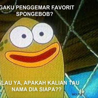 Meme Spongebob Indo  New Calendar Template Site