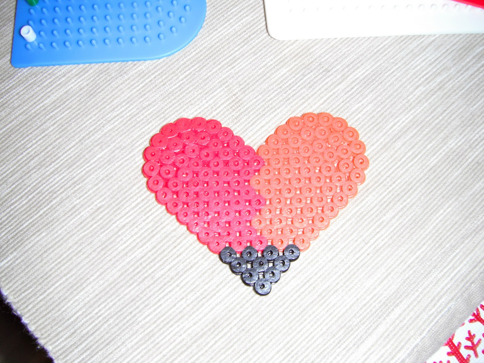 P art y easy craft for kids iron on plastic beads for Craft plastic