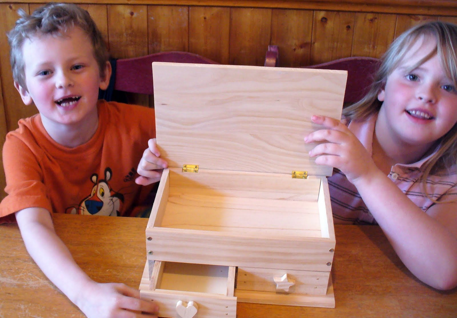 wooden jewelry box kits