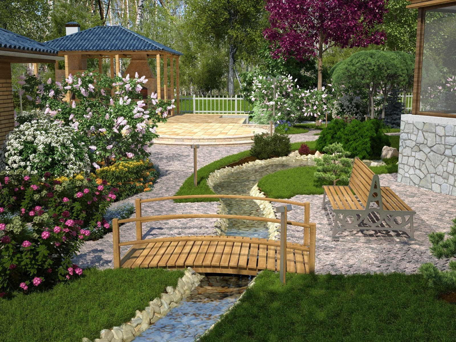 The Garden You Want When There Are Easy Landscaping Design Ideas