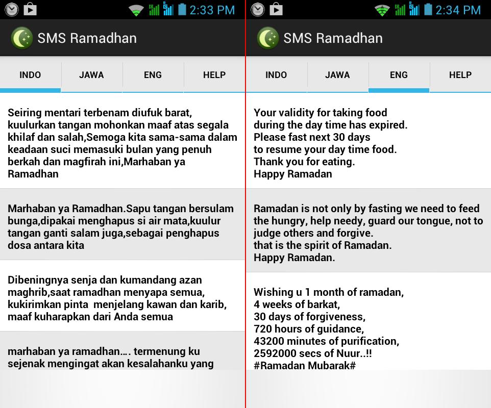Download SMS Ucapan Ramadhan 2014 Terbaru