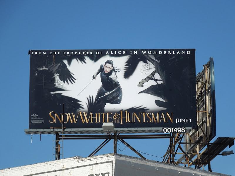Snow White Huntsman kristen Stewart billboard