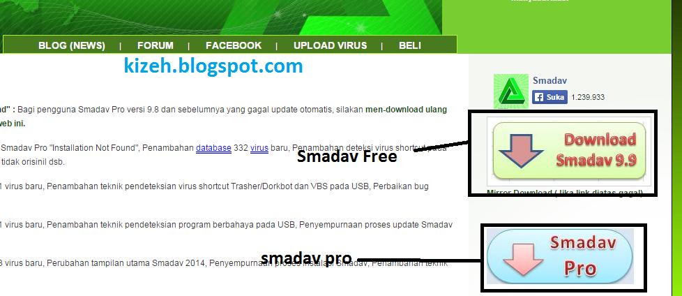 Download smadav antivirus free versi terbaru untuk PC