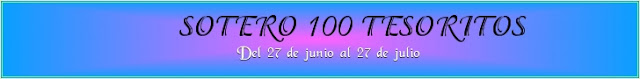 SORTEO 100 TESORITOS!