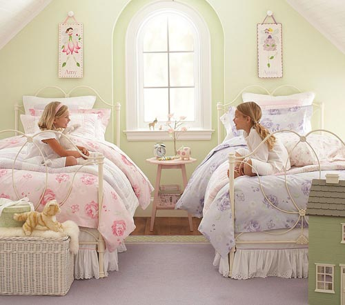 Nursery and little girl rooms - cottagestyleblogs