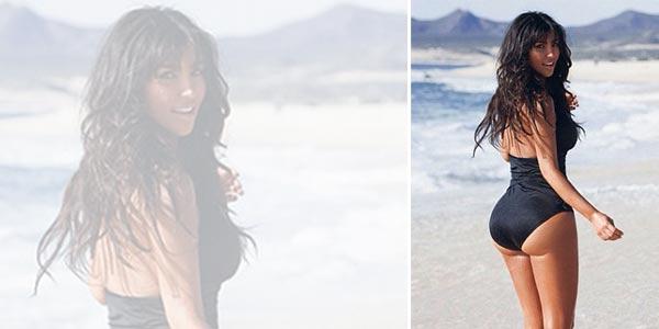 Kim Kardashian Kembali Umbar Bokong