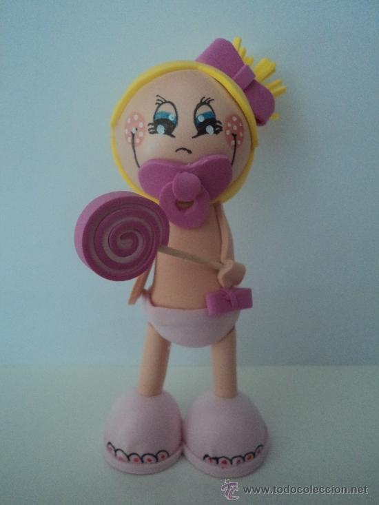Muñecos de goma eva bebés - Imagui