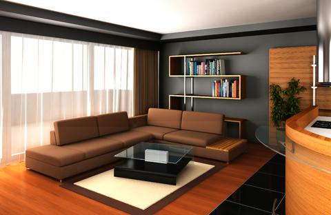 ruang tamu minimalis dan simple