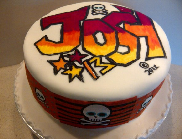 Crystal castle cakes graffiti cake for josh graffiti cake for josh altavistaventures Image collections