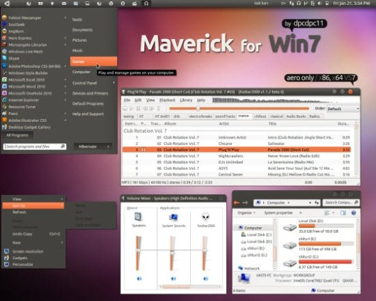 maverick-for-win7