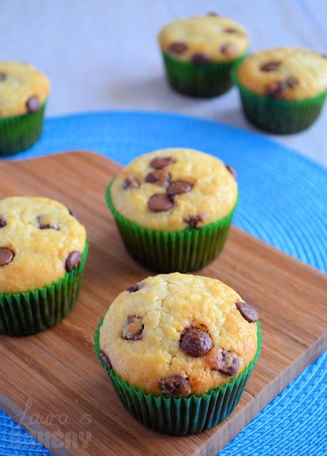Recept vanille muffins met chocoladestukjes