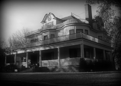 The Stone Lion Inn in Guthrie, Oklahoma is said to be haunted by family of it's original owners, the Houghton family.