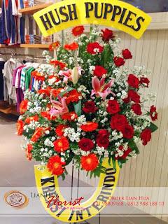 bunga standing flowers, bunga ucapan pernikahan, bunga ucapan selamat & sukses, congratulations flowers, toko bunga jakarta, toko karangan bunga jakarta