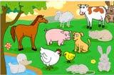 juego de los animales Domesticos