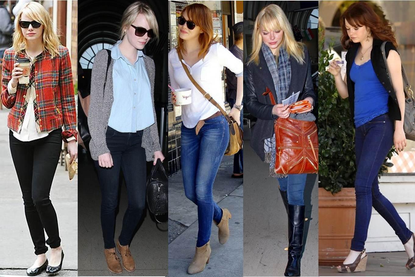 Discovering Fashion By Angie Emma Stone Rubia O Pelirroja