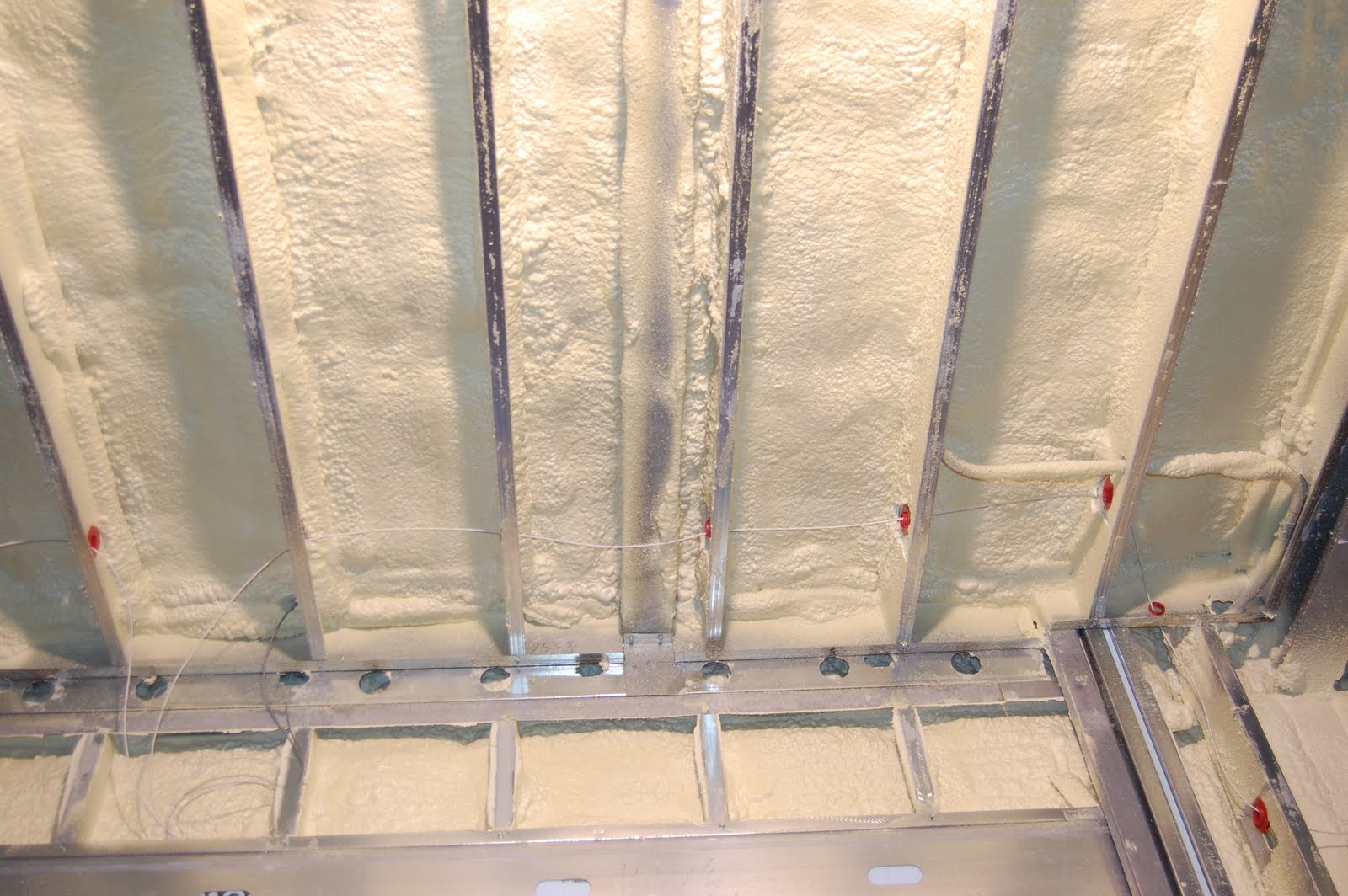 Construction update av insulation that 39 s a wrap for Basement insulation wrap