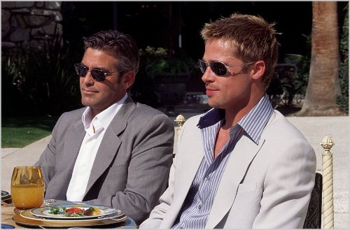 Jorge Clooney e Brad Pit