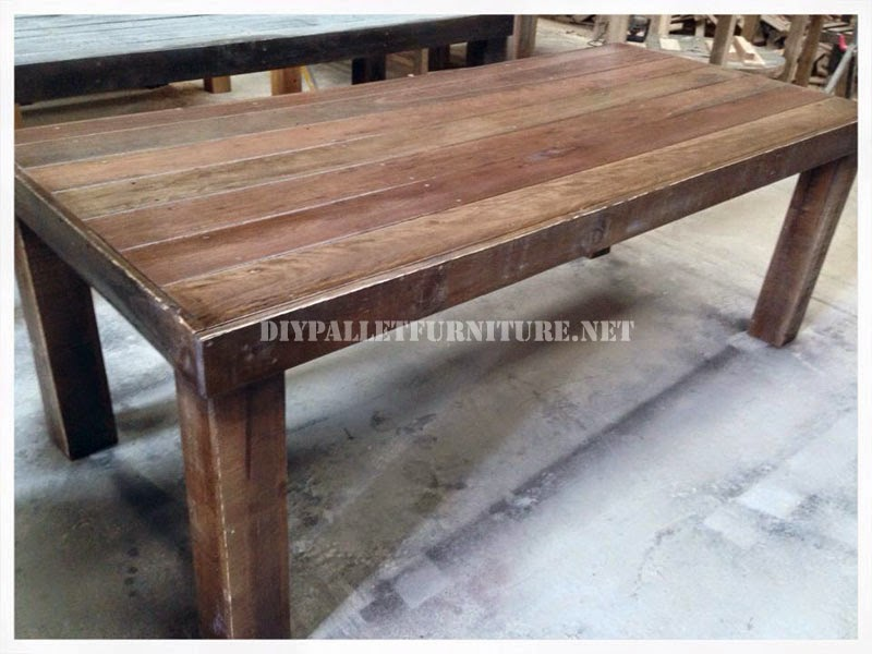Muebles de palets mesas - Mesas hechas con palets de madera ...