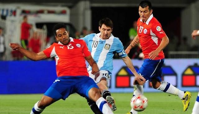 Chile vs Argentina en vivo