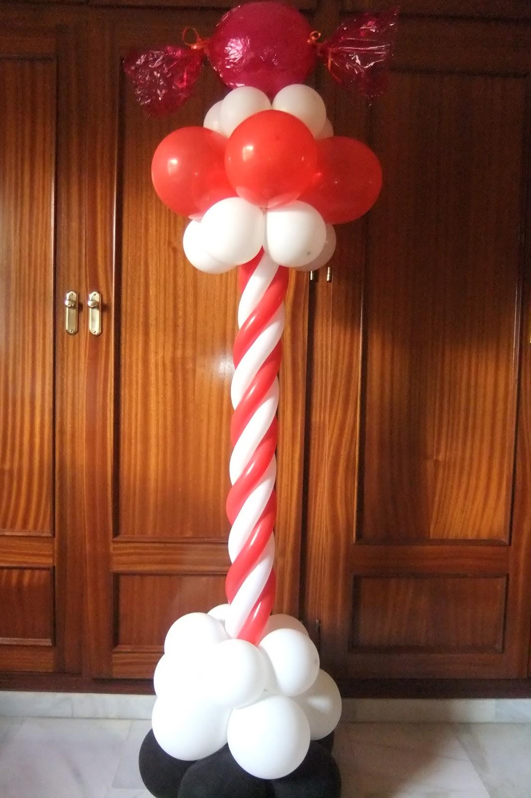 Imagenes d adornos con globos imagui - Decoracion de navidad con globos ...