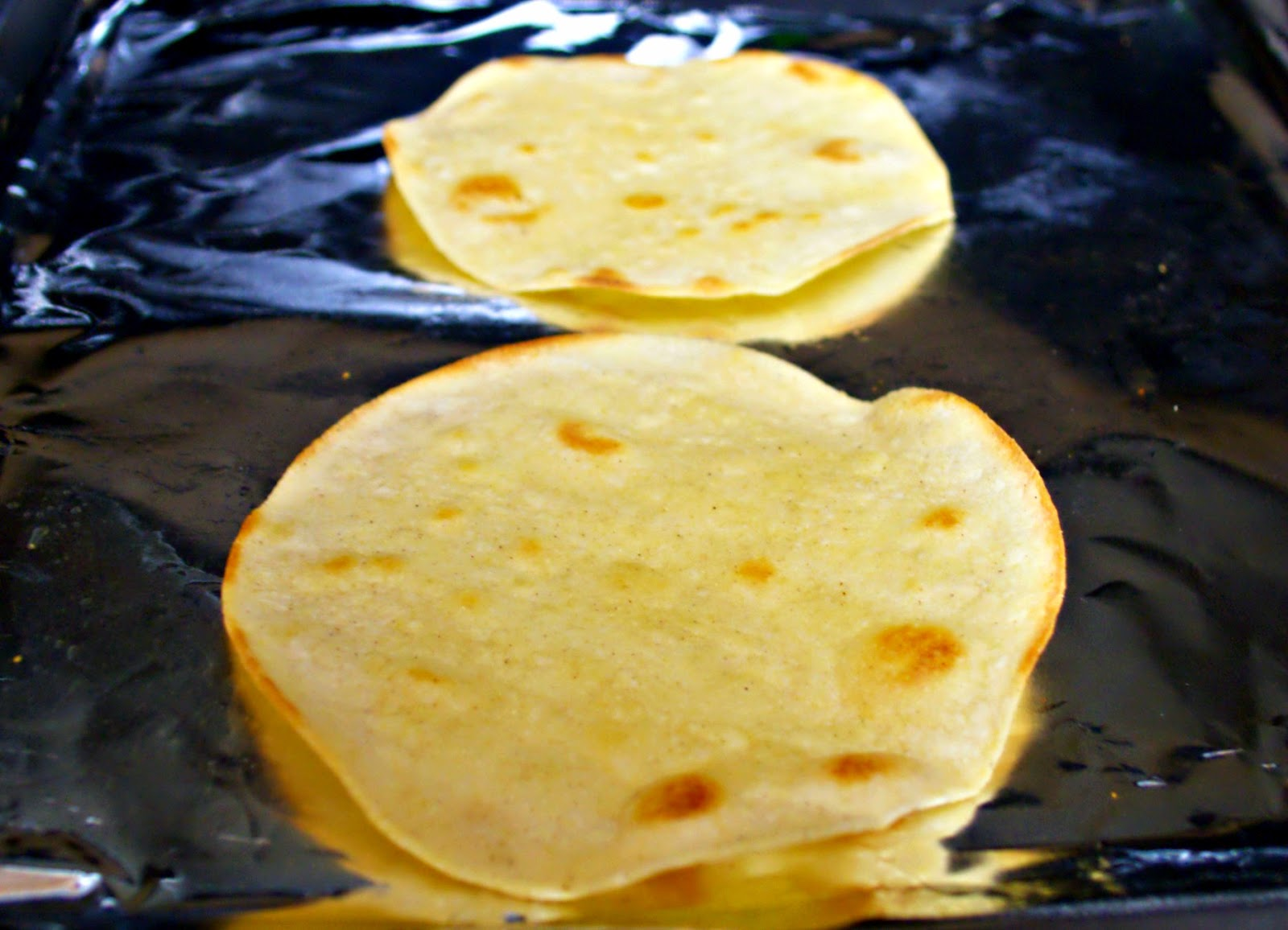 Baked Tortilla shells