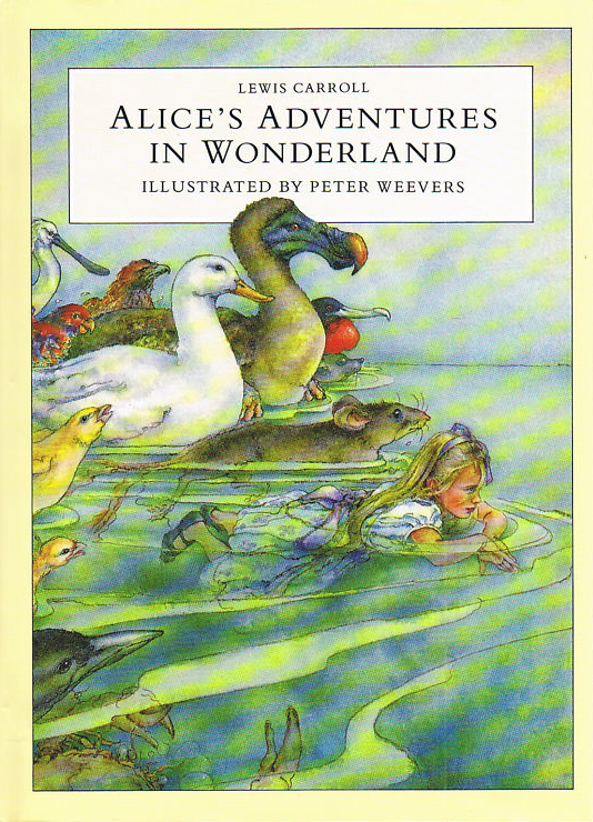 Illustrated Book Cover Version : The art of children s picture books alice in wonderland