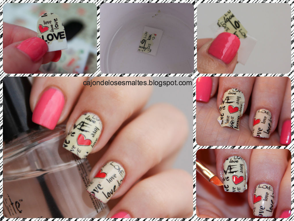 tutorial tatuajes transferibles nail art