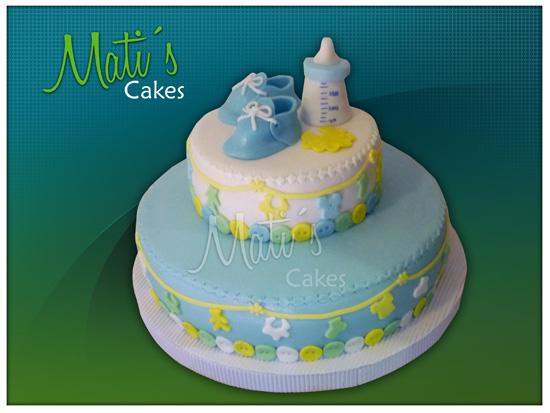 Mati´s Cakes: Torta Baby Shower niño