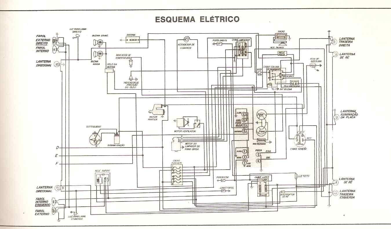 Esquema elétrico do doginho