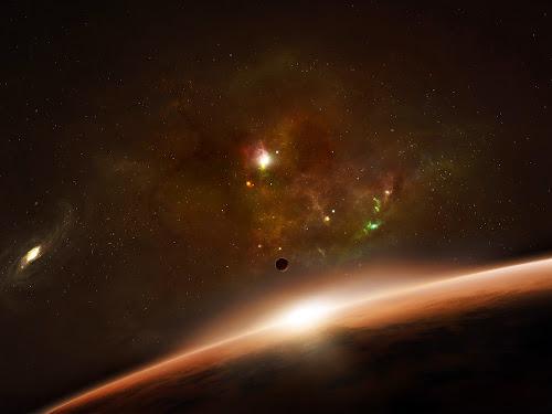 gambar fantasi astronomi keren