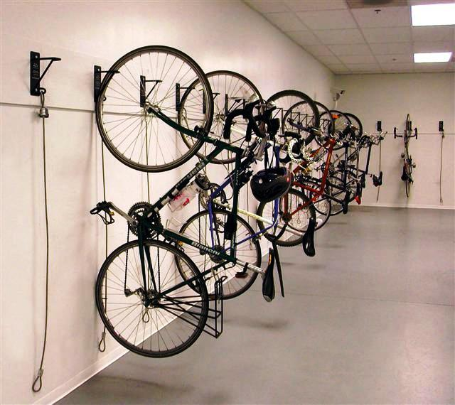 Vertical Bike Racks From Gales (732) 489 3867